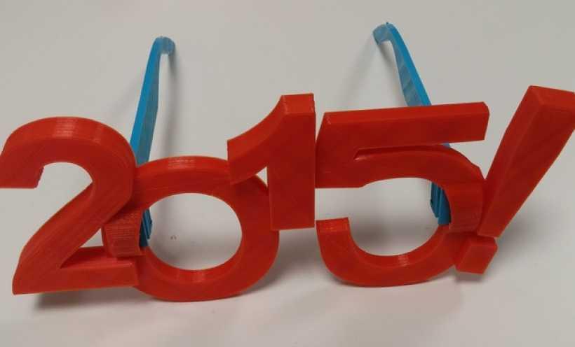 happy 3d打印 2015年 3D打印实物照片