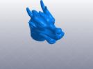十二生肖 龙头 模型