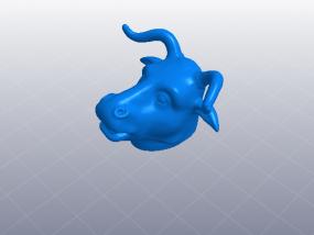十二生肖 牛头 模型