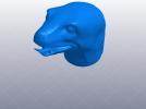 十二生肖 蛇头  模型