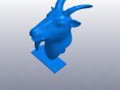 十二生肖 羊头 模型