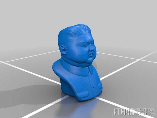 最高领袖 3D打印模型渲染图