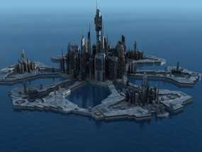 星际之门亚特兰蒂斯城(俗称A城)