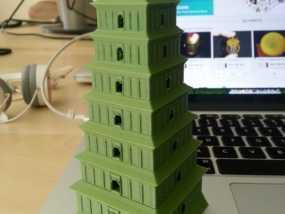 著名的大雁塔