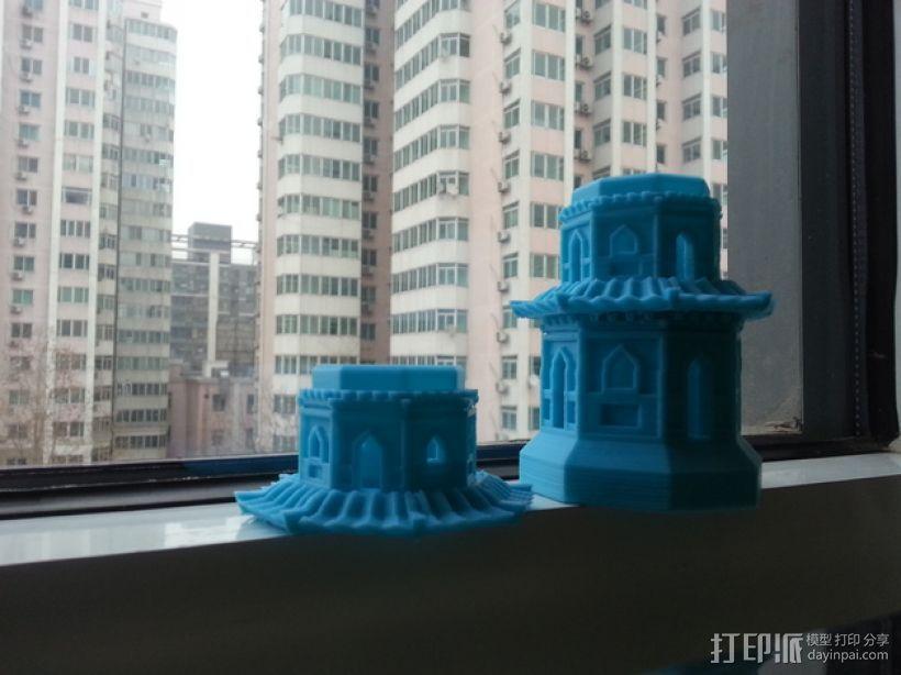 玉峰塔 3D打印模型渲染图