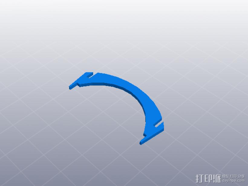 齿轮组合玩具大集合 3D打印模型渲染图