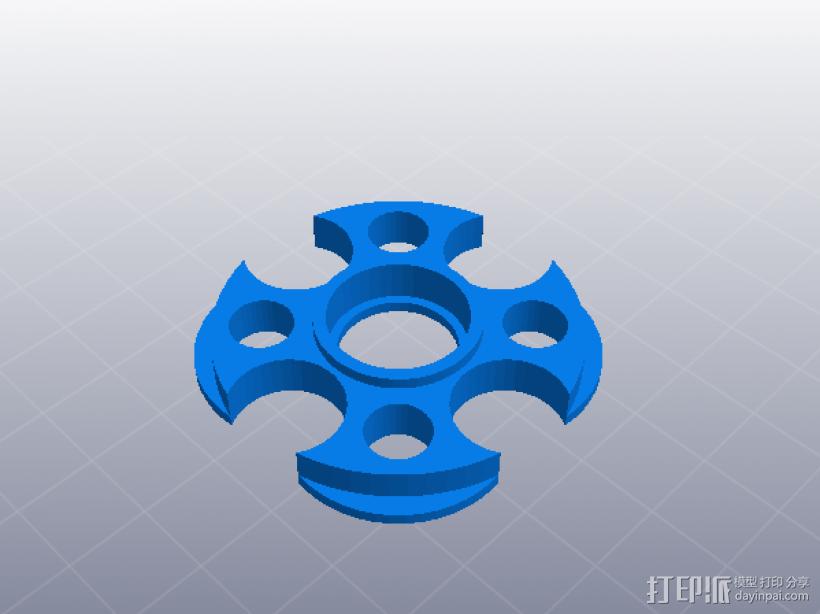 料盘托 3D打印模型渲染图