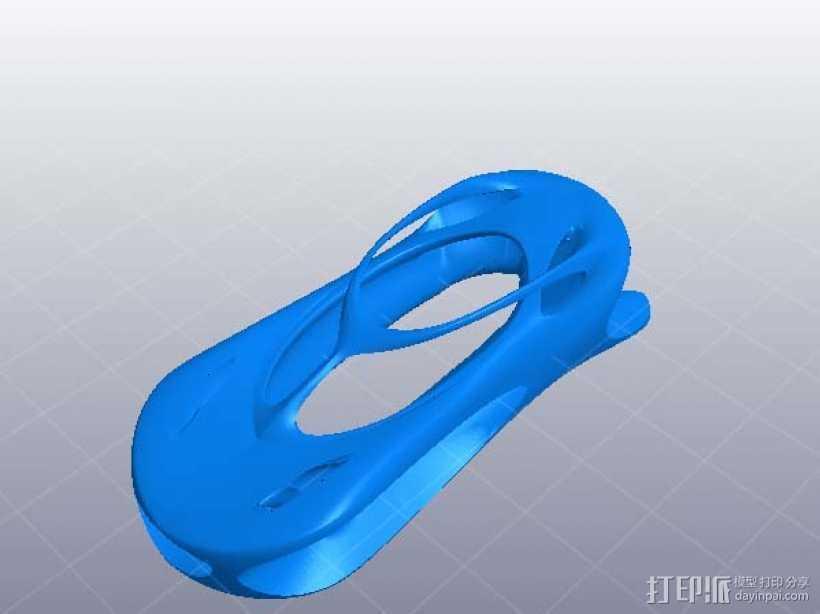 超炫汽车外形 3D打印模型渲染图