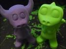 小牛牛牛魔王可爱版金牛座3D打印模型磐纹出品