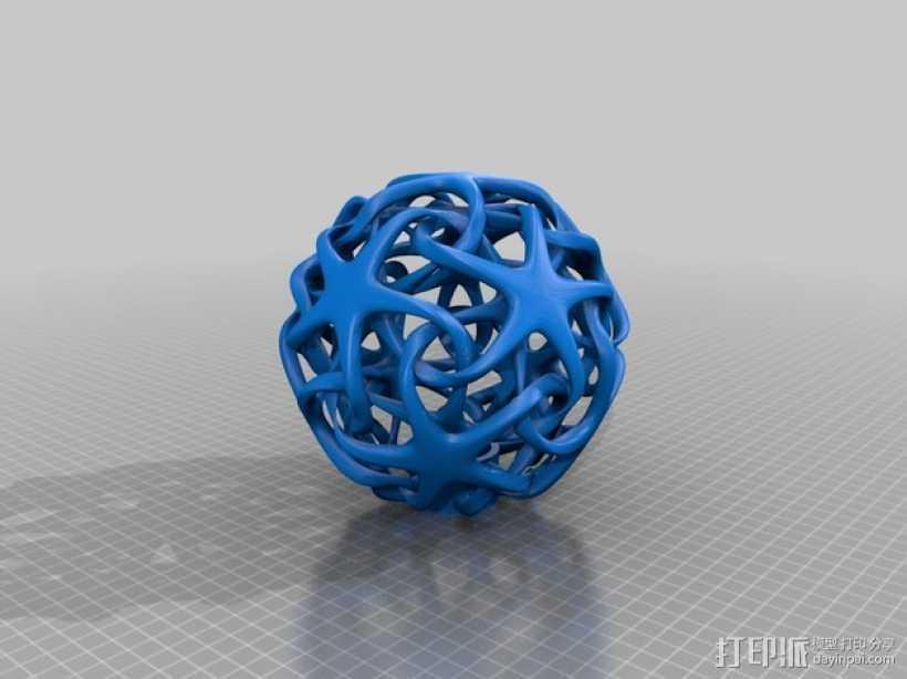 室内台灯 3D打印模型渲染图