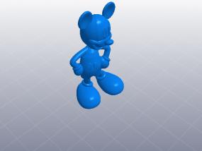 米老鼠 模型