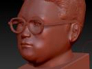 王胖胖本人自肖像