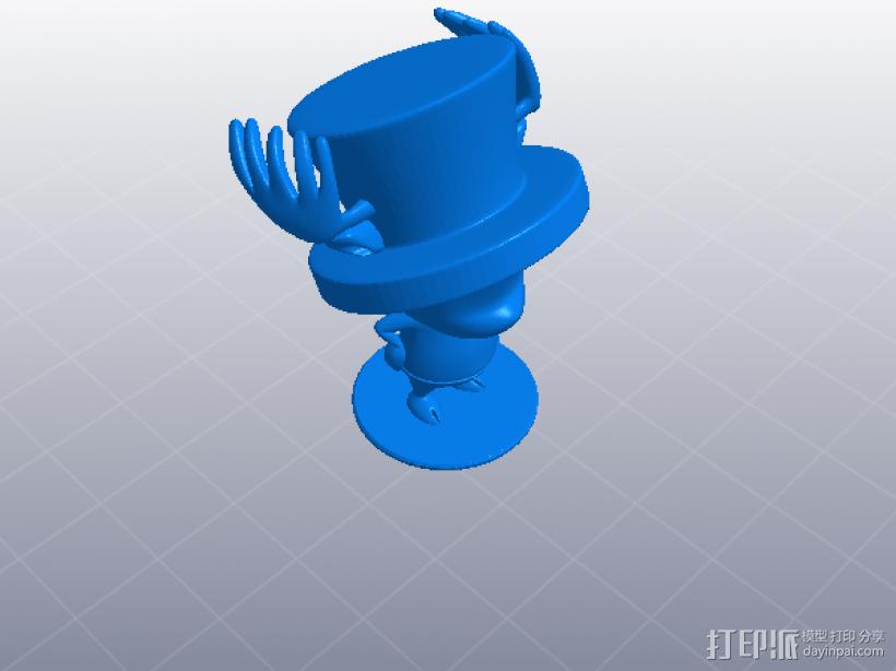 海贼王-乔巴 Tony Tony Chopper 3D打印模型渲染图