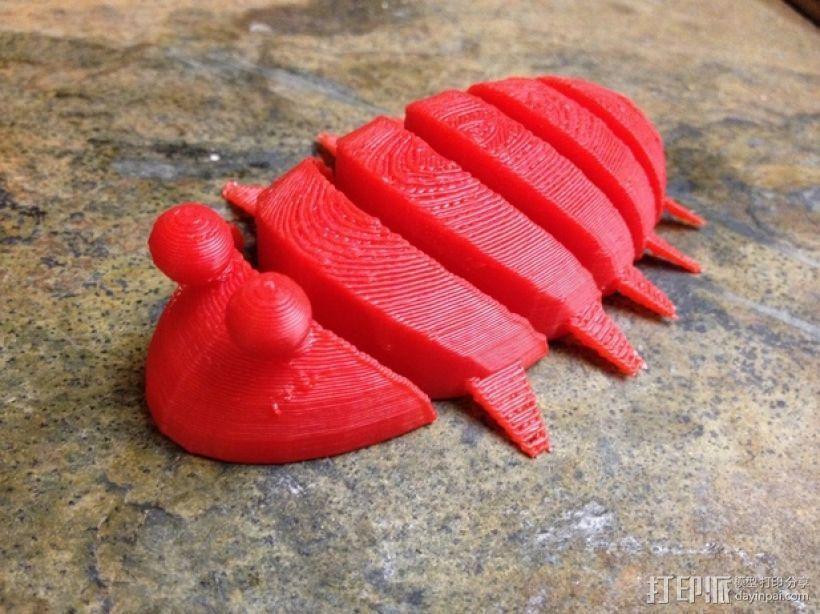 虫子 3D打印模型渲染图
