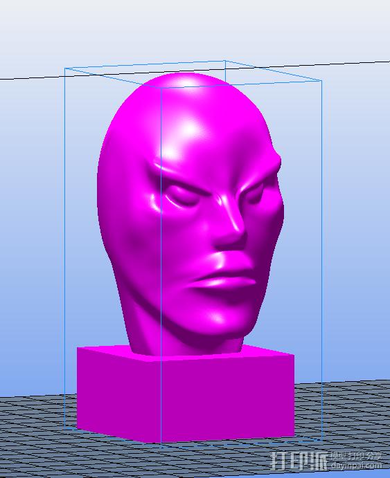 妖怪 3D打印模型渲染图