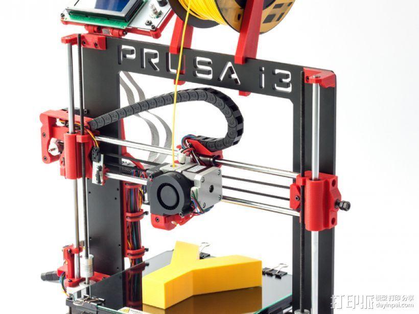 Prusa i3打印机 3D打印模型渲染图