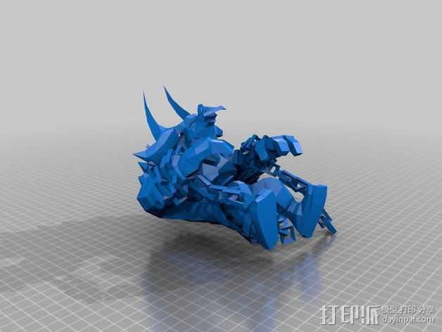 Alistar 3D打印模型渲染图