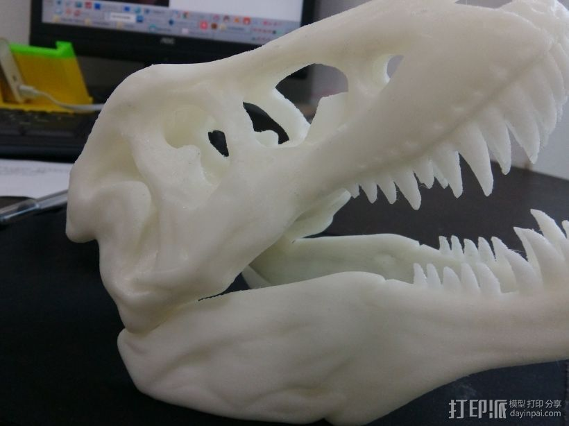 3d打印 远古生物入侵 3D打印模型渲染图