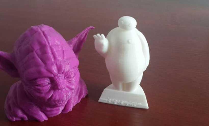 超能陆战队大白胖子玩偶 3D打印实物照片