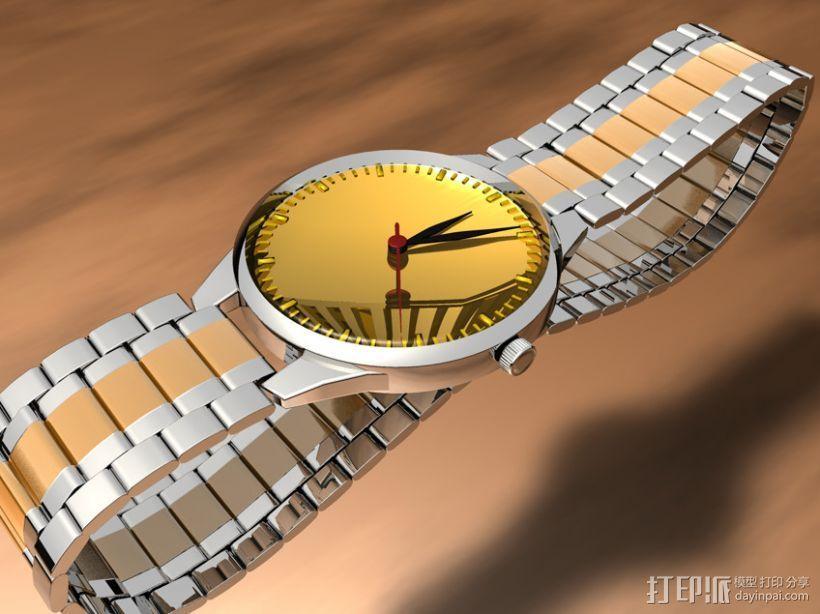 手表-C4D模型 3D打印模型渲染图