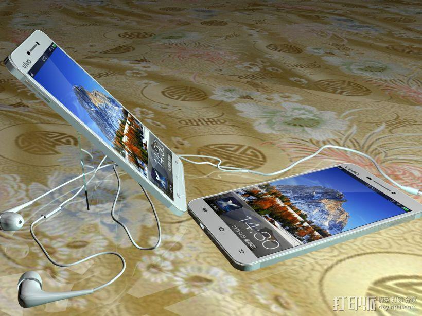手机 3D打印模型渲染图