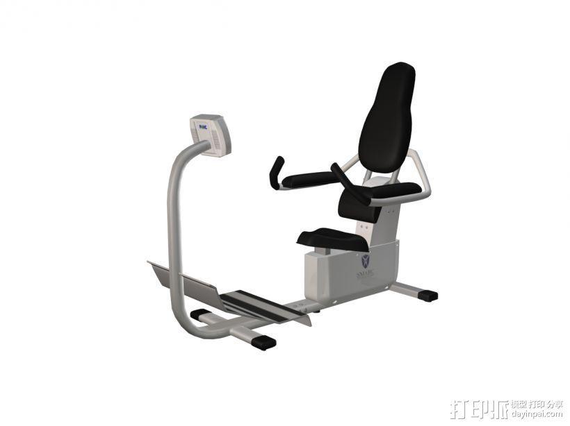 健身2 3D打印模型渲染图