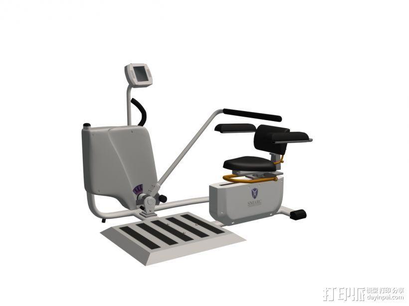 健身3 3D打印模型渲染图