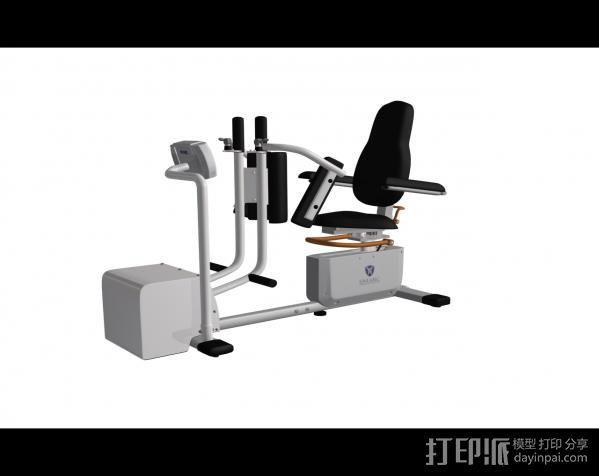 健身6 3D打印模型渲染图