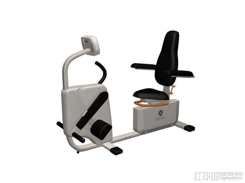 健身7 3D打印模型渲染图