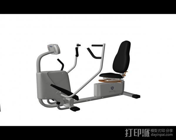 健身8 3D打印模型渲染图