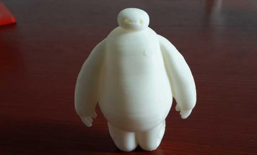 萌娃 big hero 大白 Baymax 3D打印实物照片