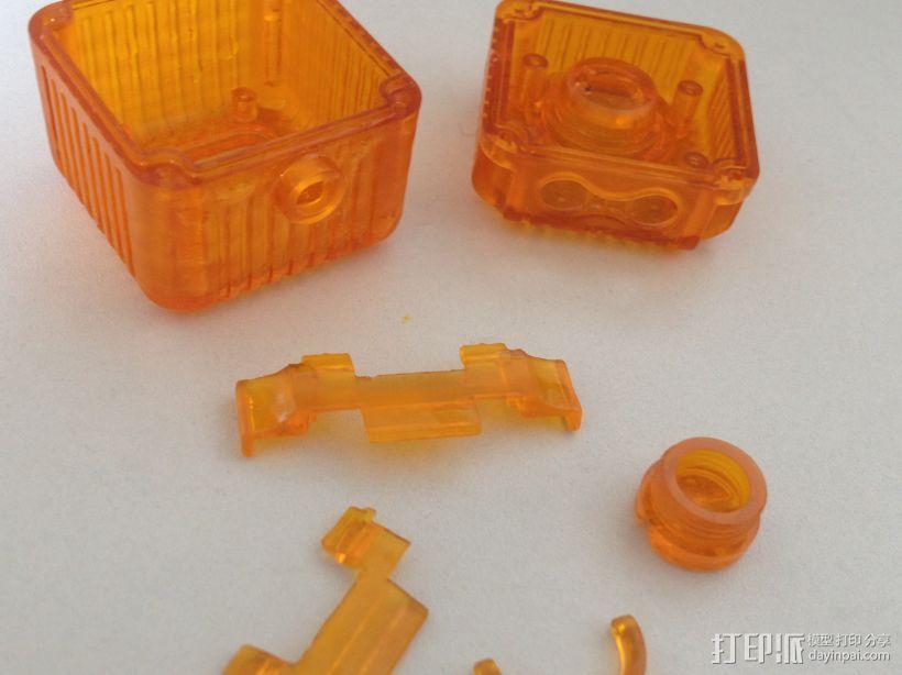 公司组装件 3D打印模型渲染图