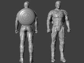 复仇者联盟 美国队长 罗杰斯