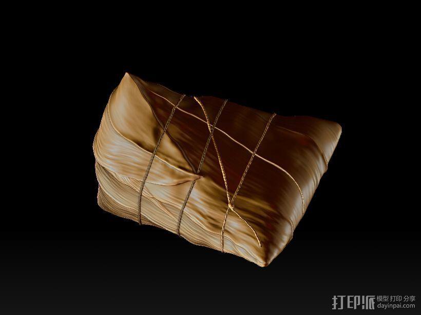 端午粽子 3D打印模型渲染图
