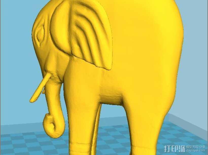 曹植称象 3D打印模型渲染图