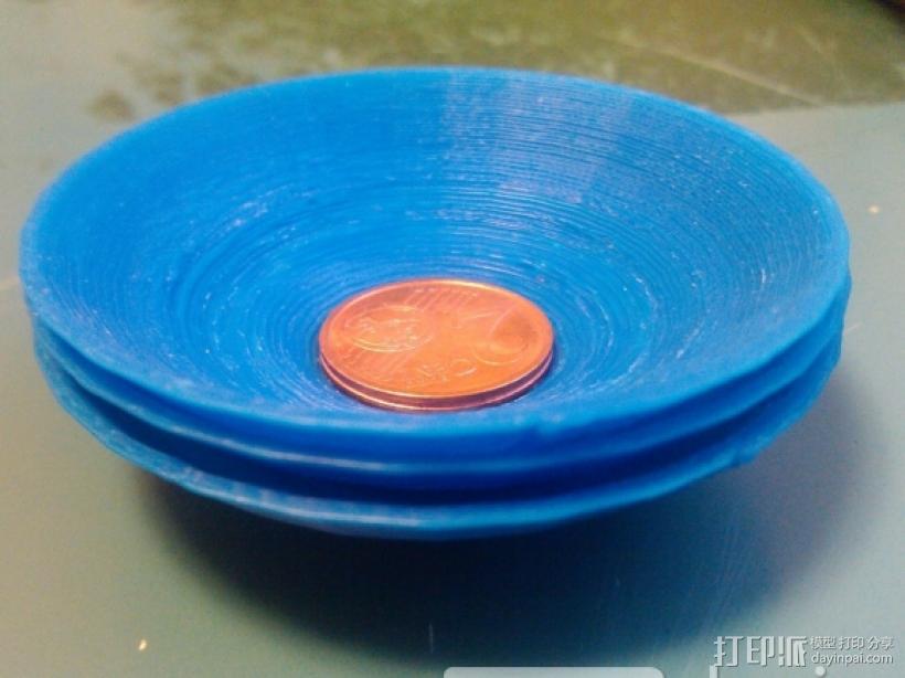 小盘子 3D打印模型渲染图