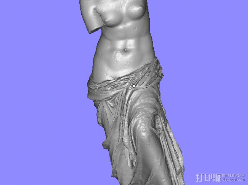 爱与美 3D打印模型渲染图