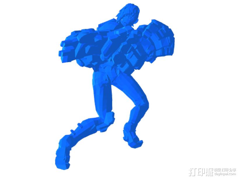 巨人——擎天柱 3D打印模型渲染图