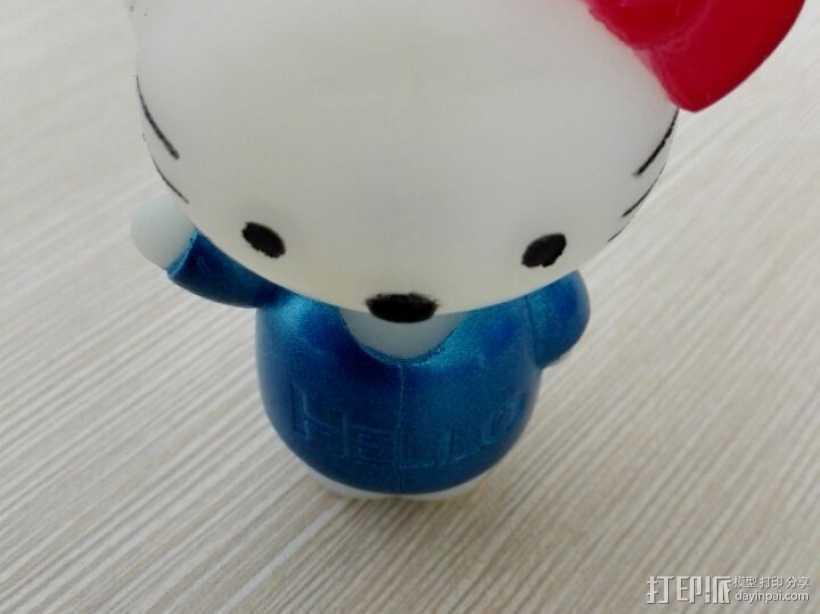 hello kitty 3D打印模型渲染图