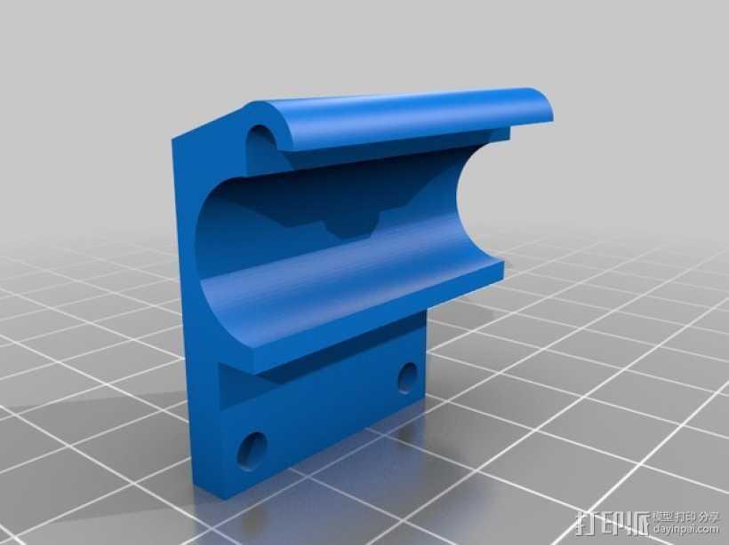 Ultimaker2 打印头 3D打印模型渲染图
