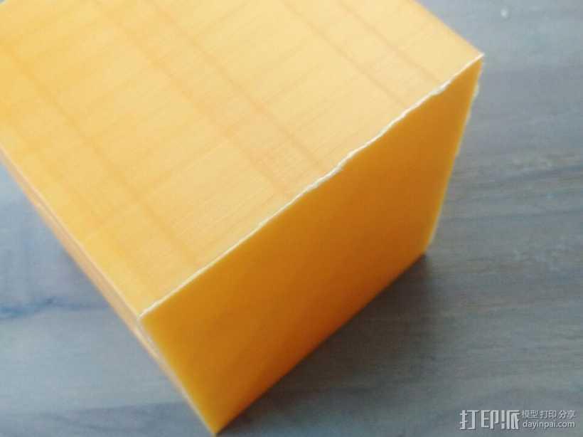 盒子 3D打印模型渲染图