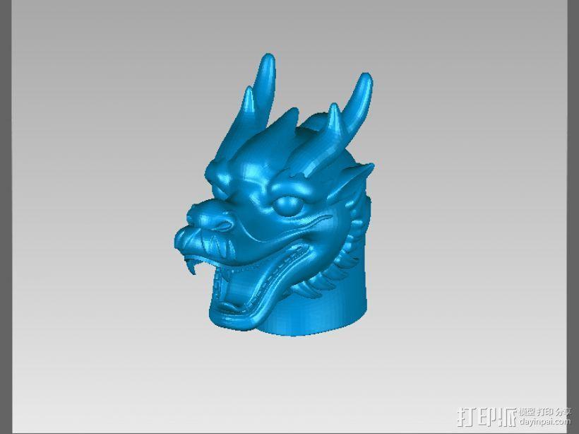 十二兽首-龙 3D打印模型渲染图