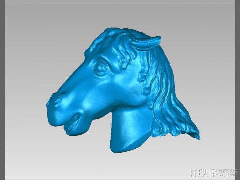 十二兽首-马 3D打印模型渲染图
