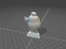 Baymax大白3D打印STL模型