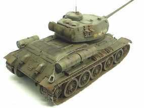 T-34坦克模型-二战坦克-曾经的陆战之王