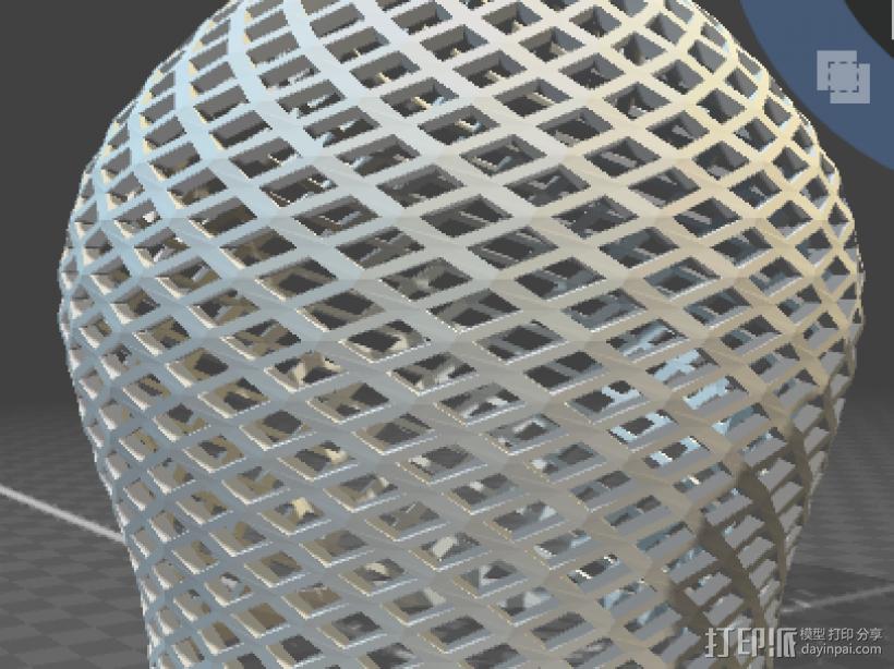 灯罩 3D打印模型渲染图
