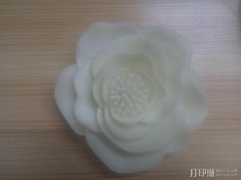 花吊饰 3D打印模型渲染图