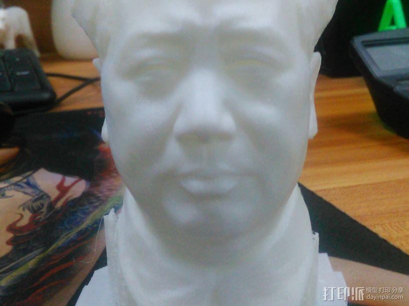 毛爷爷 3D打印模型渲染图