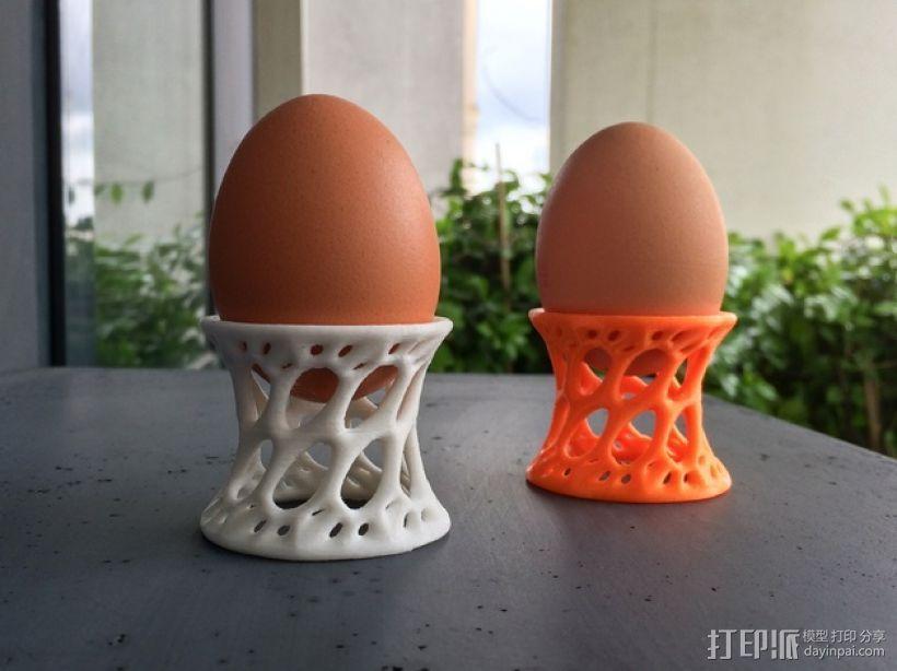 鸡蛋杯 3D打印模型渲染图