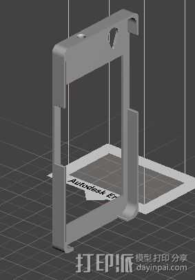 中兴G718C外壳 3D打印模型渲染图